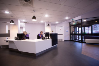 Image of Vets Now reception for Vets Now Customer Support