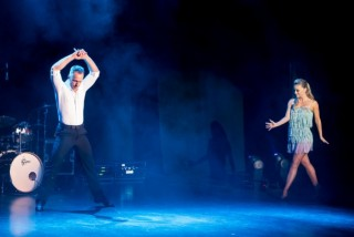 Image of James and Ola from Strictly Come Dancing performing at Congress