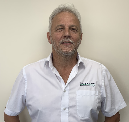 Image of Mike Wickham, Woodley Equipment