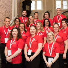 Image of Vets Now staff representing our values, culture and carity support