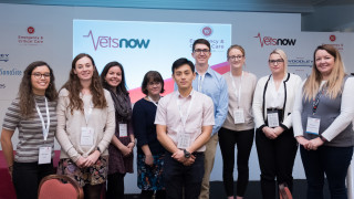 Image of student vets for Vets Now article on vets now EMS presentations