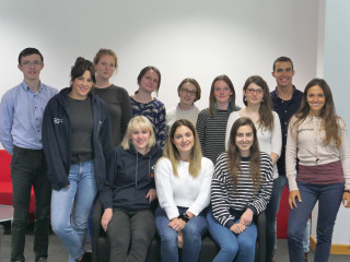 Image of interns for Vets Now article on veterinary internships
