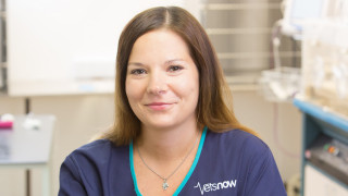 Image of vet surgeon Weronika Gwiazda for Vets Now article on EU vets in the UK